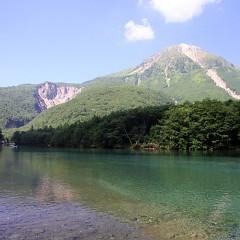 上高地 閉山の画像