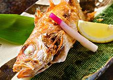 幻の高級魚「のど黒の塩焼き」