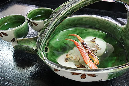 越前ガニで作る贅沢な「越前カニ酒」