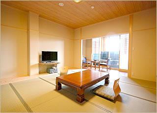 10畳+半露天風呂付客室客室