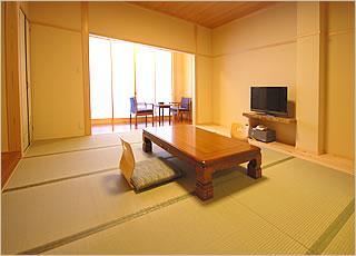12畳+半露天風呂付客室客室