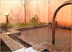 12畳+露天風呂付客室(1F)露天風呂