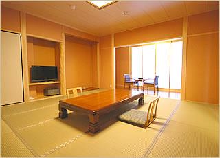 12.5畳+半露天風呂付客室客室