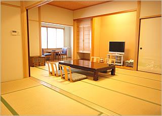 12畳+7.5畳+半露天陶器風呂付客室客室